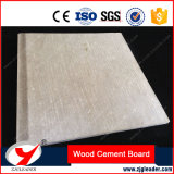 Mur intérieur et extérieur de la fibre de ciment résistant au feu du grain du bois d'administration
