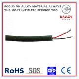 Fio plana com isolamento de PVC (tipo K/E/J/N/T)