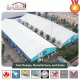 40X100m kundenspezifisches Ausstellungs-Zelt mit ABS harter Wand an der Bezirk-Messe