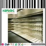 Metalldoppeltes mit Seiten versehenes Insel-System-Speicher-Supermarkt-Regal
