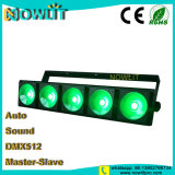 5pcs 30W 3 en 1 LED RGB Matriz COB Blinder luz