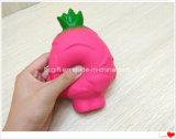 La moitié des Fruits du Dragon Pitaya Squishy parfumé à la hausse lente PU Toy