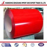 Ruberoida Prepainted/ PPGI bobinas de acero galvanizado con Color Popular