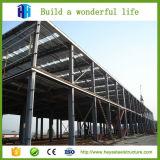 A estufa verteu o edifício da fábrica do armazém da estrutura do frame de aço