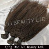 ベストセラーのバージンのRemyの毛8Aの等級の人間の毛髪の加工されていない卸し売りブラジルのバージンの毛