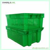 음식 급료 빵 과일 야채 쌓을수 있고는 Nestable 관통되는 상자