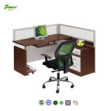 Double Steel Support Office Furniture의 2015 나무 Office Desk Connect