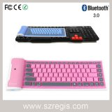 Universal Waterproof Foldable Silicone Soft Computer Wireless Bluetooth Keyboard
