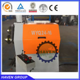 macchina piegatubi di profilo di alta qualità, piegatrice idraulica WYQ24-75 di profilo