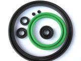 Bague en caoutchouc métrique personnalisée à base de caoutchouc Viton O-Ring / Clone