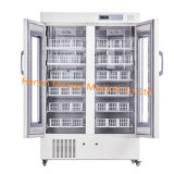 2-8 градусов в вертикальном положении и фармацевтической лаборатории холодильник