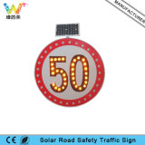 Arab Market Hot Sale Solar Warning Guidance LED Traffic Sign