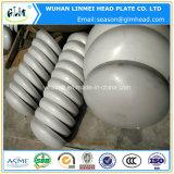 Acciaio inossidabile di pressatura fredda 304 protezioni servite del tubo della testa dell'estremità