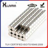 Цилиндра неодимия высокого качества сильный спеченный магнит мотора постоянного промышленный
