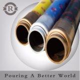 4 couches de la pompe à béton en acier flexible en caoutchouc/fin avec double à bride de flexible