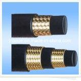 Гидровлический шланг оплетки шланга с самыми лучшими качеством и низкой ценой от поставщика золота Китая