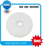 Le CDR imprimables jet d'encre blanche avec le film rétractable Emballage CD-R