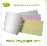 Papier de NCR de roulis de papier de caisse comptable