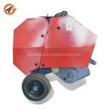 Weg hinter Traktor-mini runde Heu-Ballenpreßemballierengerät für Verkauf