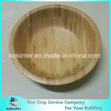Ronda Cuenco de Arroz de lavado de bambú el bambú ensaladera