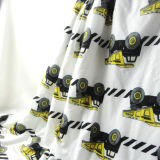 Cobertor impresso vison do bebê de Mirco com Sherpa (OV018)