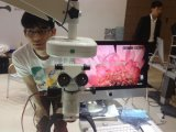 Caméra vidéo élevée de pente médicale de définition