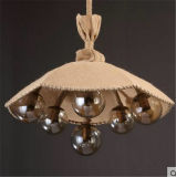 Iluminación pendiente de la tela para el hogar o el hotel