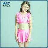 Bikini della ragazza del costume da bagno di estate dello Swimwear dei 2018 nuovo di schiocco bambini dei capretti