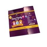 Caisse d'emballage ondulée de chaussure d'impression de couleur (FP6059)