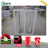 Stoßfester Windows-Hurrikan-Schwingen-Typ Vinyl Windows und Türen sondern den glasig-glänzenden grauen abgetönten Glas Windows-Hurrikan aus