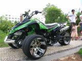 Tres ruedas de un cilindro de 200cc Racing Quad ATV