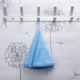 Niedriger Preis-Baumwollrundes Tuch für Gesicht