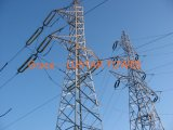Dar vuelta a la línea de transmisión dominante de potencia torre de acero de la fábrica de la producción