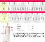 2014 robe de soirée Stock One épaule sirène bon marché nuptiale de demoiselle d'honneur parti robes de bal E223