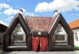 Populärer beweglicher aufblasbarer Pub 2018, Kurbelgehäuse-Belüftungoder Oxfordaufblasbarer Pub, riesiges irisches Pub-Zelt, gute Qualitätspartei-Stab-Zelt