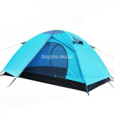 倍は2人のテント、キャンプテント、屋外のテントを置く