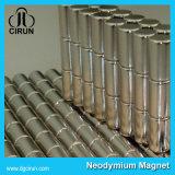 De zink Geplateerde Gesinterde Magneten van het Neodymium Cilinder voor Motor