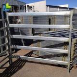 Panneaux utilisés de frontière de sécurité de parc à matériau de bétail/bétail (5 longerons, 6 longerons, 7 longerons)