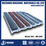 Vertiefte Eingangs-Aluminiumfußboden-Handelsmatte