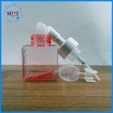 Botella cosmética vacía vendedora caliente de la espuma cuadrada 250ml