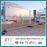 Aufbau-Zaun-temporärer Konstruieren-Zaun geschweißtes temporäres Zaun-Panel