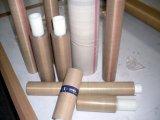 Telas da cor PTFE de Brown, telas do Teflon, correia do engranzamento de PTFE