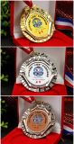 Estampación de latón Aleación de Zinc fundido a Medallón de la medalla de 3D