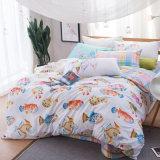 Hojas de base del lecho de ropa de cama del dormitorio del poliester del algodón