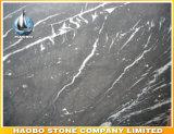 Direto da fábrica de alta qualidade Marquina preta em mármore
