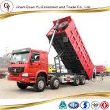 Camion à benne basculante utilisé de camion à benne basculante du camion à benne basculante HOWO à vendre 8X4