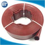 El PVC quedar plana la manguera del tubo de descarga para el riego