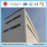 Edificio del almacén de la estructura de acero del panel de emparedado de la buena calidad