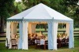 Tent van de Pagode van het Huwelijk van Upal de Openlucht 4X4m Witte met Gordijnen & Voeringen