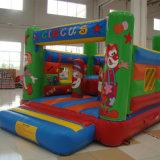 Pequeno Circo Cowns insufláveis Bouncer (BC-021)